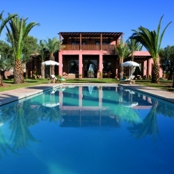 Hebergement dans une villa marrakech au maroc location for Villa jardin nomade